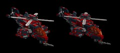N.O.D futuristic helicopter1 (demitriusgaouette9991) Tags: lego military ldd army armored helicopter sky future flying vtol powerful gunship aircraft vehicle