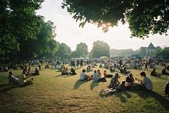 All Points East (cranjam) Tags: ricoh gr1 gr1v film kodak portra160 uk england london londra hackney victoriapark parco park festival allpointseast concerto summer estate