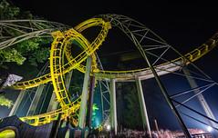 Lochness Monster (zachclarke) Tags: buschgardenswilliamsburg buschgardenseurope buschgardens bgw bge 2018 july july4th 4thofjuly zachclarke2 zachclarke nikon nikond5600 d5600 themepark amusementpark rollercoaster lochnessmonster lochness scotland arrowdynamics arrow