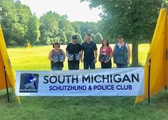 South Michigan Schutzhund & Police Club Trial (Falon167) Tags: schutzhund trial ipo claire josh bessie deb