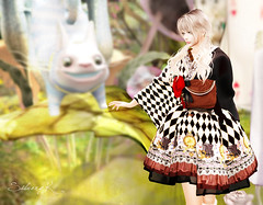 It is sweet and bitter (Silvery K) Tags: secondlife theseasons story