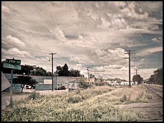 S 29th Ave (robbhenry) Tags: railroadtrack clouds