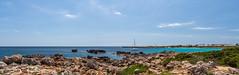 Cala'n Bosch (Mac ind Óg) Tags: islasbaleares summer spain panorama minorca balearicislands boat calanbosch walking menorca sonxoriguer seascape holiday españa illesbalears