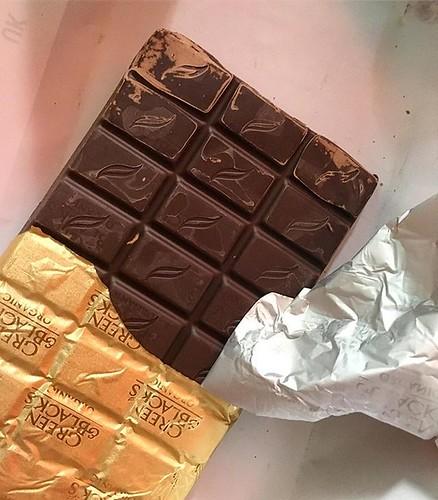 De chocola die een Engelse hittegolf overleefde