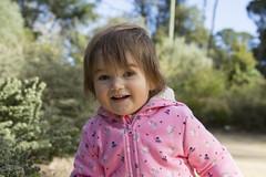 happy girl (louisa_catlover) Tags: child daughter family portrait tabitha garden outdoor walking karwarra dandenongs melbourne australia winter botanicgarden july 2018 windy