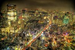 Back to Japan (/\ltus) Tags: tokyo japan roppongi pentax 東京 日本 六本木 hdr nightscape historyredux