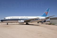 China Southern N795BA 20-5-2018 (Enda Burke) Tags: pima avgeek aviation boeing boeing737 airplane museum pimaairspacemuseum boeing737300 china chinasouthern chinese n798na tucson