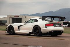 I Love This Car (Hunter J. G. Frim Photography) Tags: supercar colorado srt viper acr white bianco american v10 manual carbon wing srtviper srtviperacr viperacr