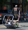 Airborne  Rickshaw Puller (Scott 97006) Tags: ricshaw ride load balance whoops tilt people riders unexpected thrill
