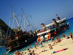 IMG_1158 (SyrianSindibad) Tags: greece zakynthos navagiobeach shipwreckbeach smugglerscove
