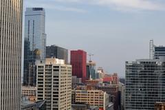 City blocks (danielhast) Tags: chicago illinois downtown sky skyscraper building reflection
