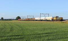 DB Cargo 6461-6455+6508 @ Duur (Sicco Dierdorp) Tags: db dbc cargo serie6400 vlaamsereus geelgrijs geel unitcargo ketelwagen keteltrein omgeleid ijssellijn deventer zwolle wijhe olst