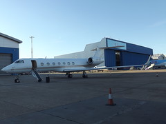VP-BNE Gulfstream G550 Jet Aviation Business Jets (Aircaft @ Gloucestershire Airport By James) Tags: luton airport vpbne gulfstream g550 jet aviation business jets bizjet eggw james lloyds