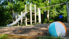 Rocks (Maryland DNR) Tags: rocks statepark harfordcounty playground slide swings beachball