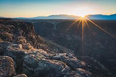 Rio Grande Gorge Bridge (kellyjrusso) Tags: riograndegorge rock tamron d750 nikon bridge formation newmexico hiking sunlight outdoors taos wild landscape gorge outdoor
