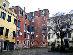 Venice 威尼斯 (MelindaChan ^..^) Tags: venice italy 意大利 威尼斯 window heritage history life house chanmelmel mel melinda melindachan building
