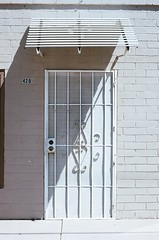 420 (radargeek) Tags: film minolta x370s 35mm az arizona casagrande shadows door security