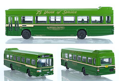 EFE-99916-National-A&D (adrianz toyz) Tags: efe 99916 set aldershotdistrict 176 oo scale model toy bus 75th anniversary 75yearsofservice leyland national bristol vr adrianztoyz