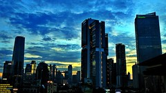 ..beautiful skyline of the city I called home.. (Ferry Octavian) Tags: canon eos 750d rebel t6i dslr landscape street shot travel trip noflash handheld explore color colour outdoor efs 1855 stm metro metropolis city cityscape modern building skyscraper tower architecture design structure exterior icon landmark office apartment hotel condo ascott tokopedia dusk sunset sun sky skyline horizon orange golden hour beautiful cloud cloudy wide blue bluehour jakarta indonesia capitalcity dki dkijakarta java southeast asia sea room view satrio kasablanka anhotel beauty
