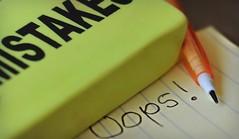 ~For BIG mistakes... (nushuz) Tags: macromondays hmm leadpencil smallnote oops eraser forbigmistakes macro yellows creativeideaperhaps