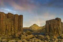 The entrance to Gondor (Tschissl) Tags: excursion regenbogen abendstimmung australia kiamadowns newsouthwales australien au