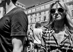 I want to break free.... (Baz 120) Tags: candid candidstreet candidportrait city candidface candidphotography contrast street streetphoto streetphotography streetcandid streetportrait sony a7 rome roma europe women mono monochrome monotone noiretblanc blackandwhite bw urban life primelens portrait people pentax20mm28 italy italia girl grittystreetphotography faces decisivemoment strangers