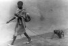 img316 (Höyry Tulivuori) Tags: india 1970 street life people cars monochrome men women child 70s vintage seventies temple city country индия улица чернобелое автомобиль дома народ быт