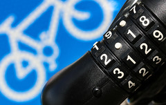 Macro Mondays - Transportation (that Geoff...) Tags: macromondays transportation transport sign lock cycling cycle bicycle biking mountainbike theft prevention 2018 security canon 70d closeup blue