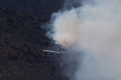 Upper Colony Fire (Jeffrey Sullivan) Tags: upper colony fire smith valley lyon county nevada wildfire aircraft air spotter plane smoke news photojournalism uppercolonyfire