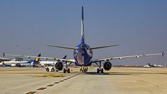 Go Air Airbus A320 VT-WAK Bangalore (BLR/VOBL) (Aiel) Tags: goair airbus a320 vtwak bangalore bengaluru canon60d canon24105f4lis