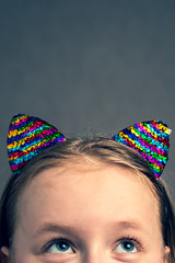 linnea rabbit ears (englishgolfer) Tags: colourful rabbit ears portrait nikon d7500 50mm nissin di700a
