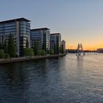 Samstagabend auf der Elsenbrücke [1/4] - HDR - Realistic thumbnail