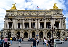 Palais Garnier, opera house, 9th Arrondissement, 2 (David McSpadden) Tags: 9tharrondissement operahouse palaisgarnier paris