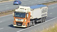 CN66 YMM (panmanstan) Tags: man tgx wagon truck lorry commercial freight bulk transport haulage vehicle a1m fairburn yorkshire