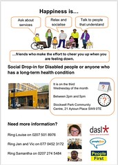 Social Drop-in on the 18th of this month. Look for your happiness, relax and socialise & talk to people who understand. 2pm-5pm every 3rd Wednesday. Right here. We're here to listen, help and learn. https://t.co/OVl4vlzlYg