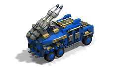 o1 6w suv elephant-missiles2 (demitriusgaouette9991) Tags: military army ldd armored future suv powerful vehicle deadly lego