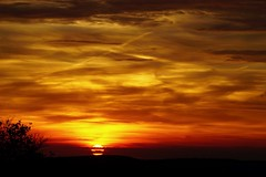 Magic moment (**Karin**) Tags: golden red abendstimmung evening sun sonnenuntergang sunset