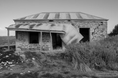Filled with Character: If only it could speak (Sharon Wills) Tags: ruins house architecture palmer southaustrralia australian rural country broken dilapidated cracked unloved