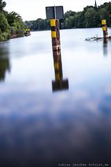 20120530-_MG_5319-5D210-TJ-fotoist-de (tobias jeschke fotoist.de) Tags: flus halle kröllwitz landschaft langzeitbelichtung saale wasser wehr