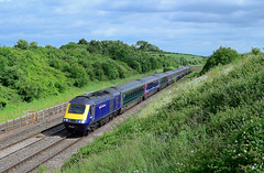 Future Nostalgia. (curly42) Tags: 43009 43182 class43 hst 125 highspeedtrain gwr railway transport standishjunction 1l34