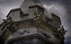 Watchers (Seeing Visions) Tags: 2018 canada ca québec montréal christchurchcathedral gothicrevival neogothic architectfrankwills tower grotesque architecturaldetail architecture stone religion anglican christian dark sky clouds texture rayondfujioka