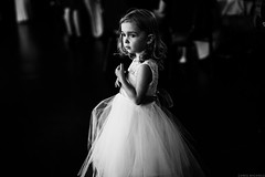 The Flower Girl (nichols_) Tags: canon6d weddingphotojournalism weddings wedding flower girl documentary photography blackandwhitephotography blackandwhite