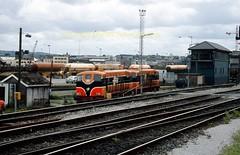 Cork 141 + 146  2001 img471 (Ernies Railway Archive) Tags: corkstation ir ie gswr gsr irishrail