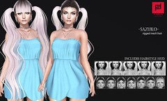 Sazuko (FABIA.HAIR) Tags: senpai hair rigged moda woman girl beauty look piktures fabia nice meef head special second sl secondlife sweet event fashion hairstyle life lovely avatar spam style shopping new release best love everyday art