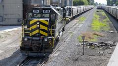 Indiana Northeastern's 3084 (Troy Strane) Tags: indiananortheastern sd402 edon ohio graintrain nikon d850