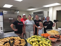 JLGA members prepared and served 70 lunches to members of our community at the First Presbyterian Church of Alton's Saturday Cafe.