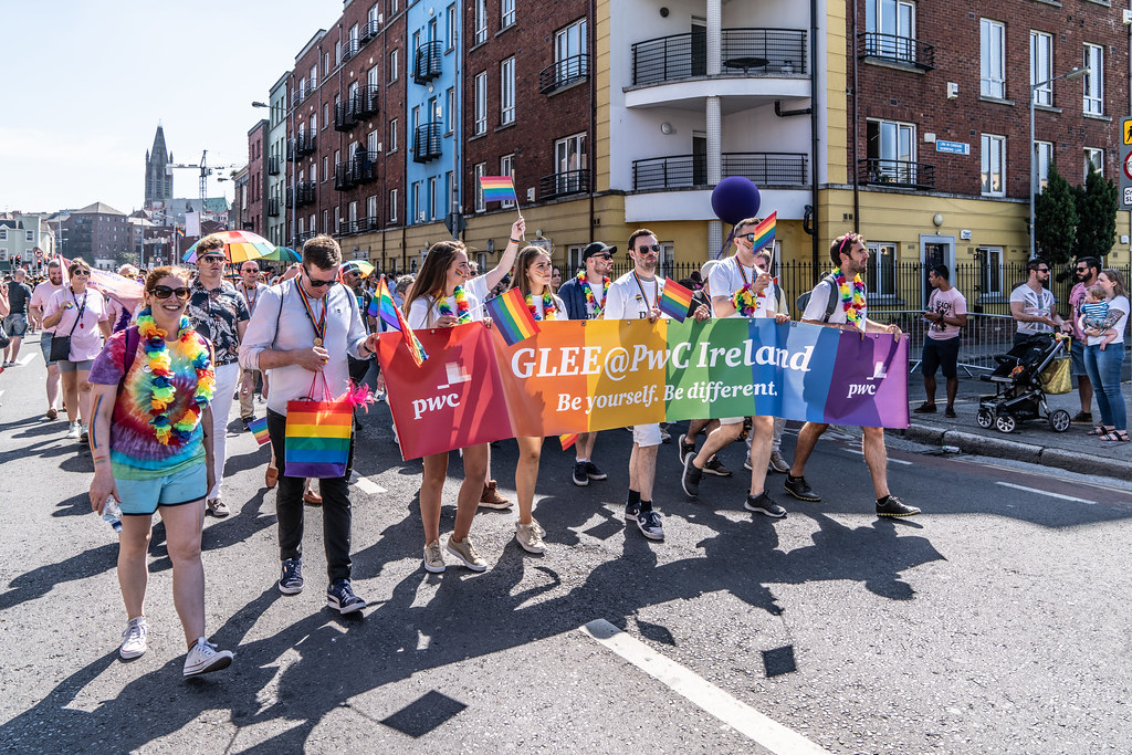 ABOUT SIXTY THOUSAND TOOK PART IN THE DUBLIN LGBTI+ PARADE TODAY[ SATURDAY 30 JUNE 2018] X-100022