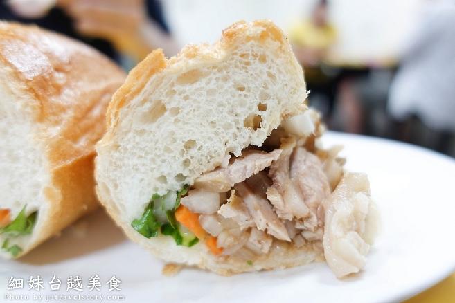細妹台越美食 外酥內軟法國麵包、清爽生春捲,炎熱夏天的好伙伴!【基隆美食/暖暖美食】 @J&A的旅行