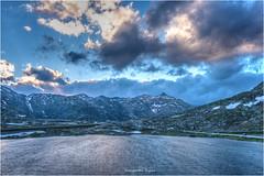Gotthardpass (Hanspeter Ryser) Tags: gotthardpass gotthard wasser berge fels schnee wolken tessin uri schweiz switzerland abendstimmung blauestunde hanspeter ryser fotografie art urschweiz andermatt