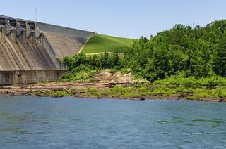 Savannah River at Hartwell Dam